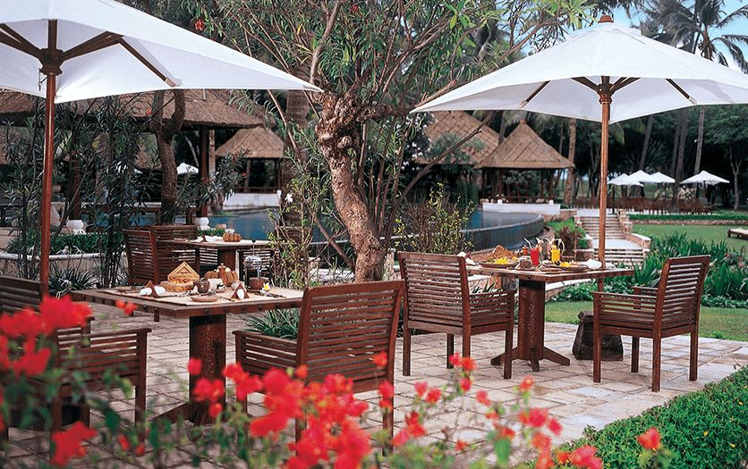 Sunbird Cafe at The Oberoi Beach Resort Lombok