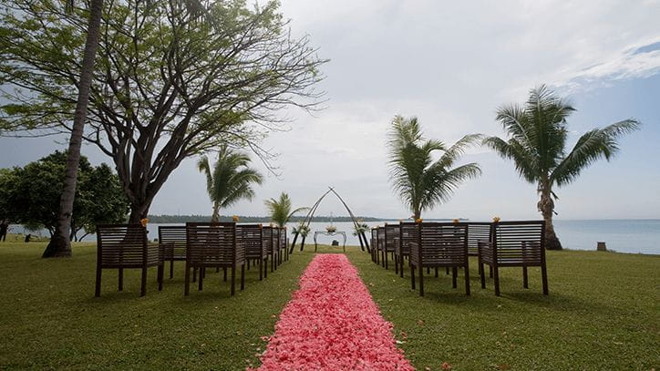 Garden by the Sea, The Oberoi Beach Resort Lombok
