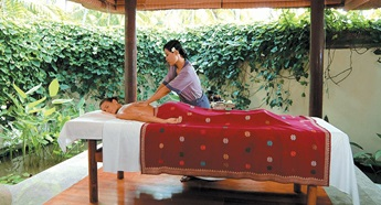 Spa Treatment at The Oberoi Beach Resort Lombok