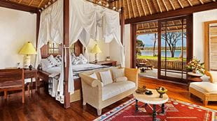 Ocean Villas with a Private Pool, The Oberoi Beach Resort Lombok