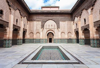 Medersa ben Yousuf in Marrakech