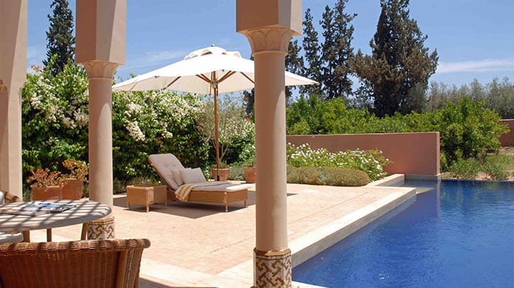 Deluxe Room with Private Terrace in Marrakech
