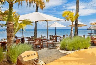 On the Rocks at The Oberoi Beach Resort Mauritius