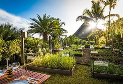The Herb Trail at The Oberoi Beach Resort Mauritius