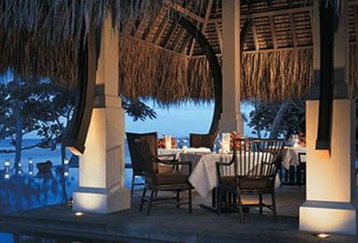 The Restaurant at The Oberoi Beach Resort Mauritius