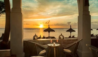 The Bar   The Oberoi Beach Resort Mauritius