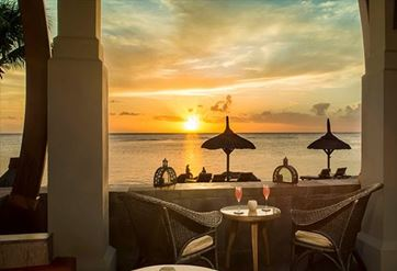 Champagne on the Beach Experience at The Oberoi Beach Resort Mauritius