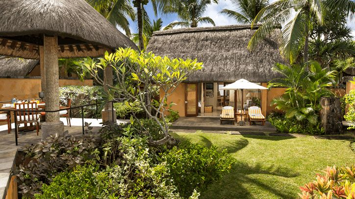 Luxury Villas with Garden at The Oberoi Beach Resort Mauritius