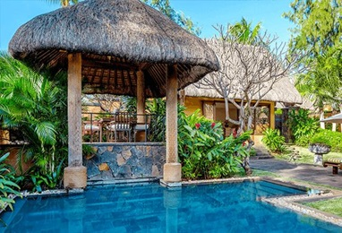 Luxury Villas with Private Pool at The Oberoi Beach Resort Mauritius