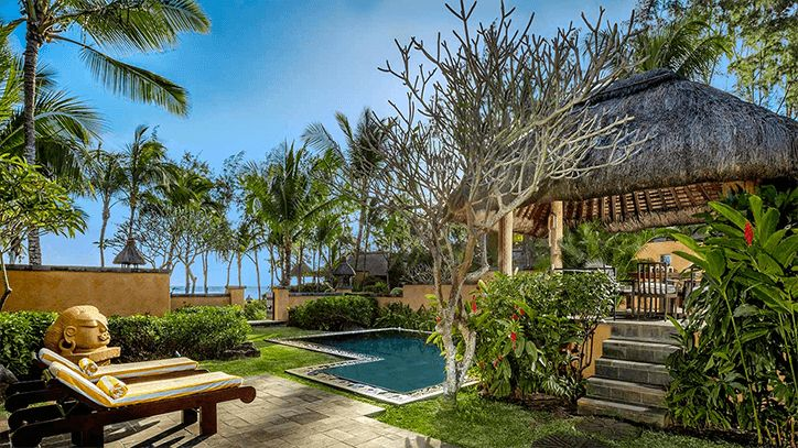 Premier Villas with Private Pool at The Oberoi Beach Resort Mauritius
