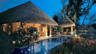Presidential Villa with Private Pool at The Oberoi Beach Resort Mauritius