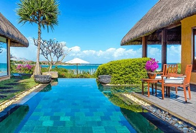 Royal Villa with Private Pool at The Oberoi Beach Resort Mauritius
