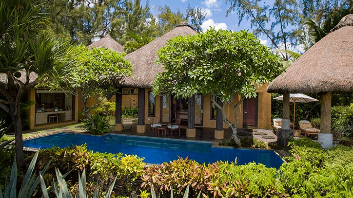 Two Bedroom Presidential Villa with Private Pool in The Oberoi Beach Resort Mauritius
