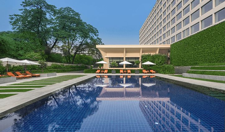 Swimming Pool at The Oberoi New Delhi