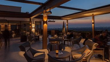 Cirrus 9 Restaurant at The Oberoi New Delhi