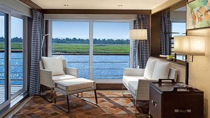 Luxury Suites at The Oberoi Philae Luxury Nile Cruiser