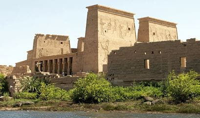 Philae The High Dam