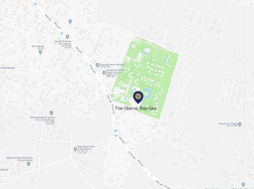 5 Star Hotels & Best Resort in Chandigarh | The Oberoi Sukhvilas Spa