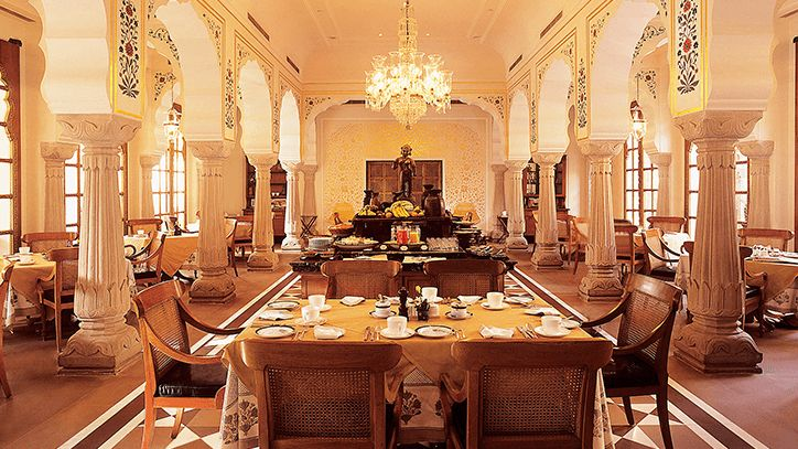 Surya Mahal Restaurant at The Oberoi Rajvilas Jaipur