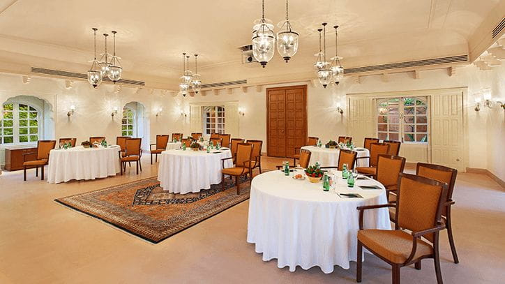 Conference Hall at The Oberoi Rajvilas Jaipur