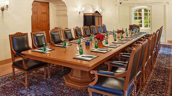 Board Room at The Oberoi Rajvilas Jaipur