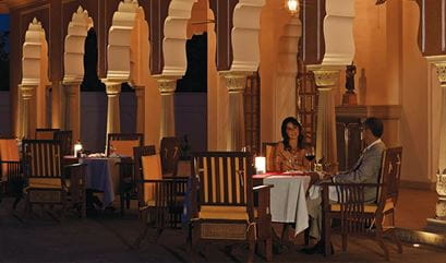 Charbagh Dinner Experiences at The Oberoi Rajvilas Jaipur