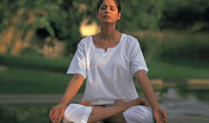 Yoga Meditation Experience at The 5 Star Resort in Jaipur, The Oberoi Rajvilas