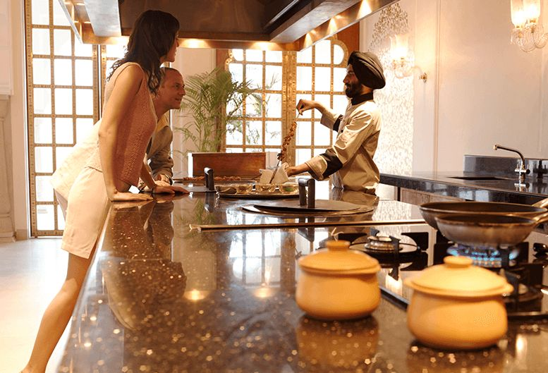 Cooking Sessions Experiences at The 5 Star Resort in Jaipur, The Oberoi Rajvilas
