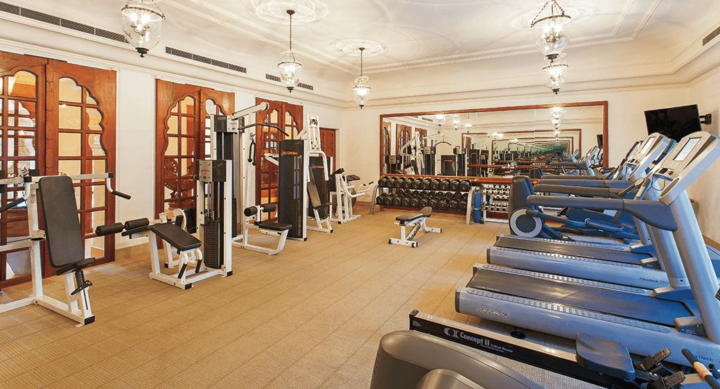 Gym at The Oberoi Rajvilas Jaipur