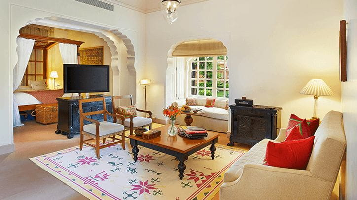 Kohinoor Villa with Private Pool, The Oberoi Rajvilas Jaipur