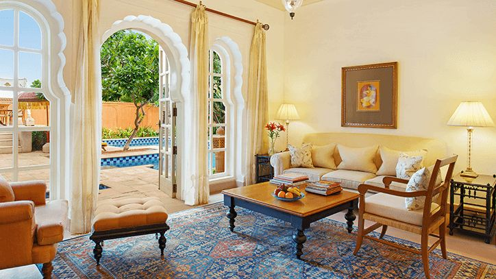Luxury Villa with Private Pool, The Oberoi Rajvilas Jaipur