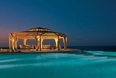 The Pergola Restaurant at The Oberoi Beach Resort Sahl Hasheesh