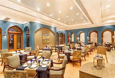 Zafraan Restaurant at The Oberoi Beach Resort Sahl Hasheesh