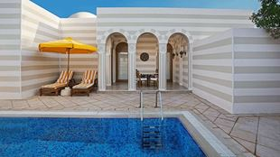 Grand Suites with Private Pool in The Oberoi Beach Resort Sahl Hasheesh