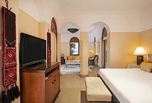 Superior Deluxe Suite in The Oberoi Beach Resort Sahl Hasheesh