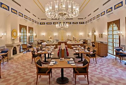 Anant Mahal Restaurant at The Oberoi Sukhvilas Spa Resort Chandigarh