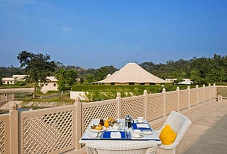 Kaanan Restaurant at The Oberoi Sukhvilas Spa Resort Chandigarhq