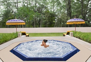 Bubbles and Bliss at The Oberoi Sukhvilas Spa Resort Chandigarh