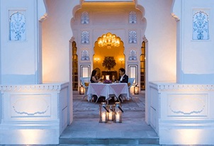 Champagne Under the Stars Experience at The Oberoi Sukhvilas Spa Resort Chandigarh