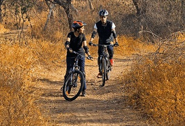 Mountain Biking Experience at The Oberoi Sukhvilas Spa Resort Chandigarh