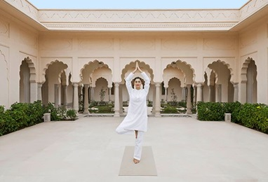 Private Yoga Session Experience at The Oberoi Sukhvilas Spa Resort Chandigarh