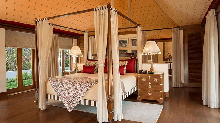 Royal Forest Tents with Private Pool, The Oberoi Sukhvilas Spa Resort Chandigarh