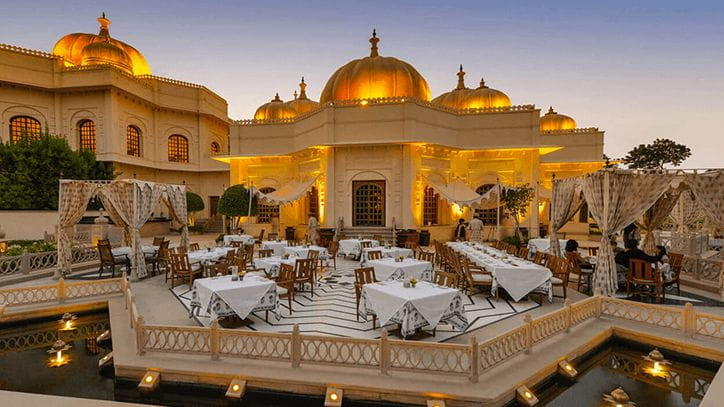 Suryamahal and Chandni Restaurant at The Oberoi Udaivilas Udaipur