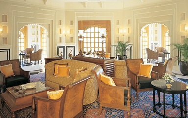 The Bar at The Oberoi Udaivilas Udaipur