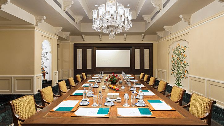 Meeting Rooms at The Oberoi Udaivilas Udaipur