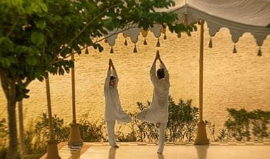 Private Yoga Session Experience at The Oberoi Udaivilas Udaipur