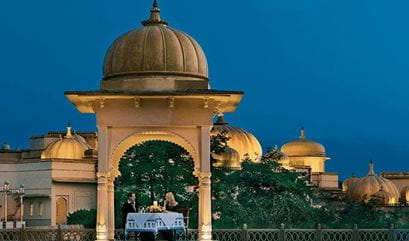 Private Dinner Under the Lakeside Dome at The Oberoi Udaivilas Udaipur