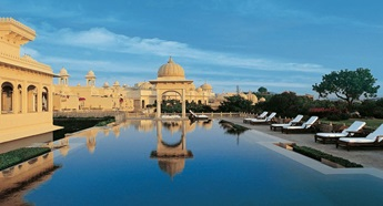 Swimming Pool at The Oberoi Udaivilas Udaipur