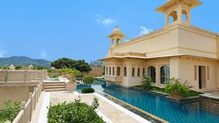 Kohinoor Suite with Private Pool at 5 Star Resort The Oberoi Udaivilas Udaipur