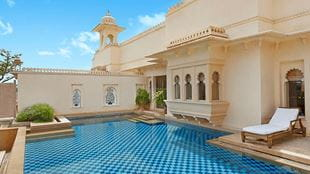Luxury Suite with Private Pool at Luxury Resort in Udaipur at The Oberoi Udaivilas